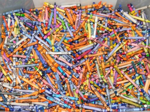 3+ Pounds of Random Crayons