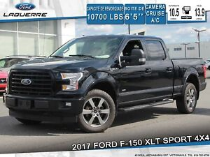 2017 Ford F-150 XLT SPORT**4X4*CAMERA*BLUETOOTH*A/C*GR. ELECT**