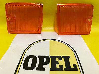 NEU + ORIGINAL OPEL Kadett B 1.Serie SATZ Rücklichtglas re + li Glas NOS Gläser ()