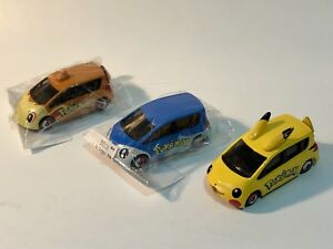 NINTENDO Pokemon toy cars Pikachu