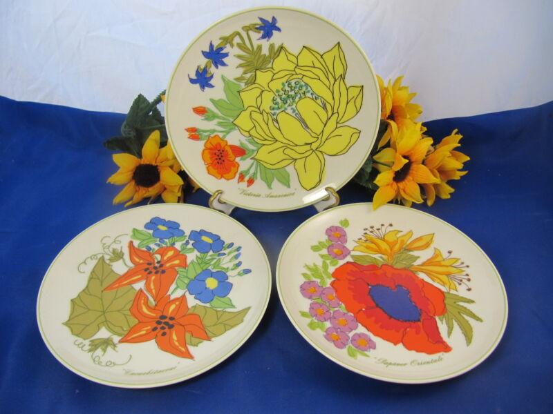 HEINRICH LEMEAU Design Tastesetter Collection Salad Plates Set Of 3 GERMANY
