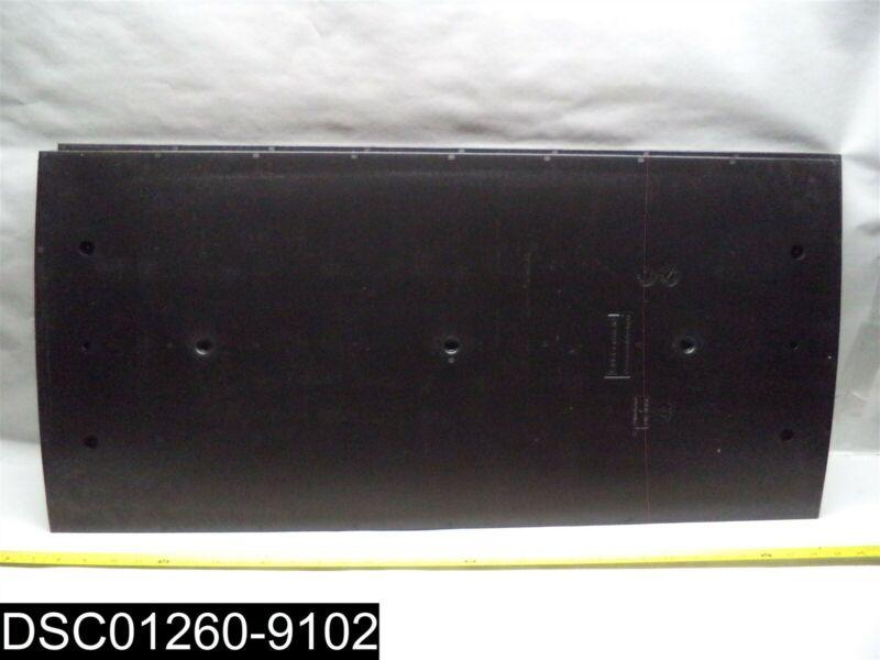 1995834 Rubbermaid Janitor Cart Panel Black 2 Piece Set
