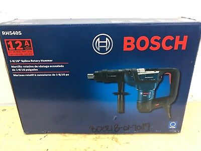 Bosch 1-916 In. Corded Variable Speed Sds-max Combination Rotary Hammer Drill