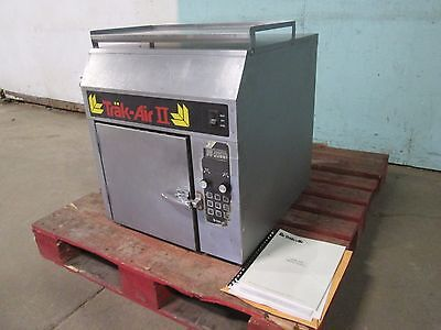 """""""TRAK-AIR II"""" HD COMMERCIAL COUNTER-TOP DIGITAL ELECTRIC FORCED AIR FOOD SYSTEM"""