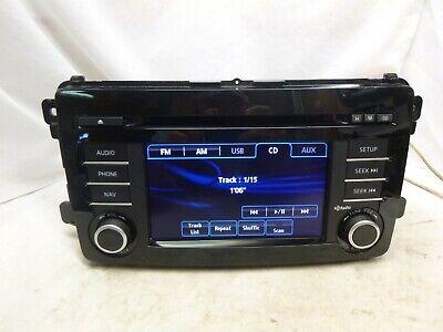 13 14 15 Mazda CX-9 CX9 Radio Cd Gps Navigation TK2166DV0C PRK24