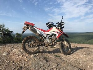 2015 Honda CRF250L with many upgrades