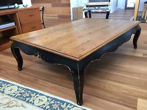 French Provincial coffee table and side table Taringa Brisbane South West Preview