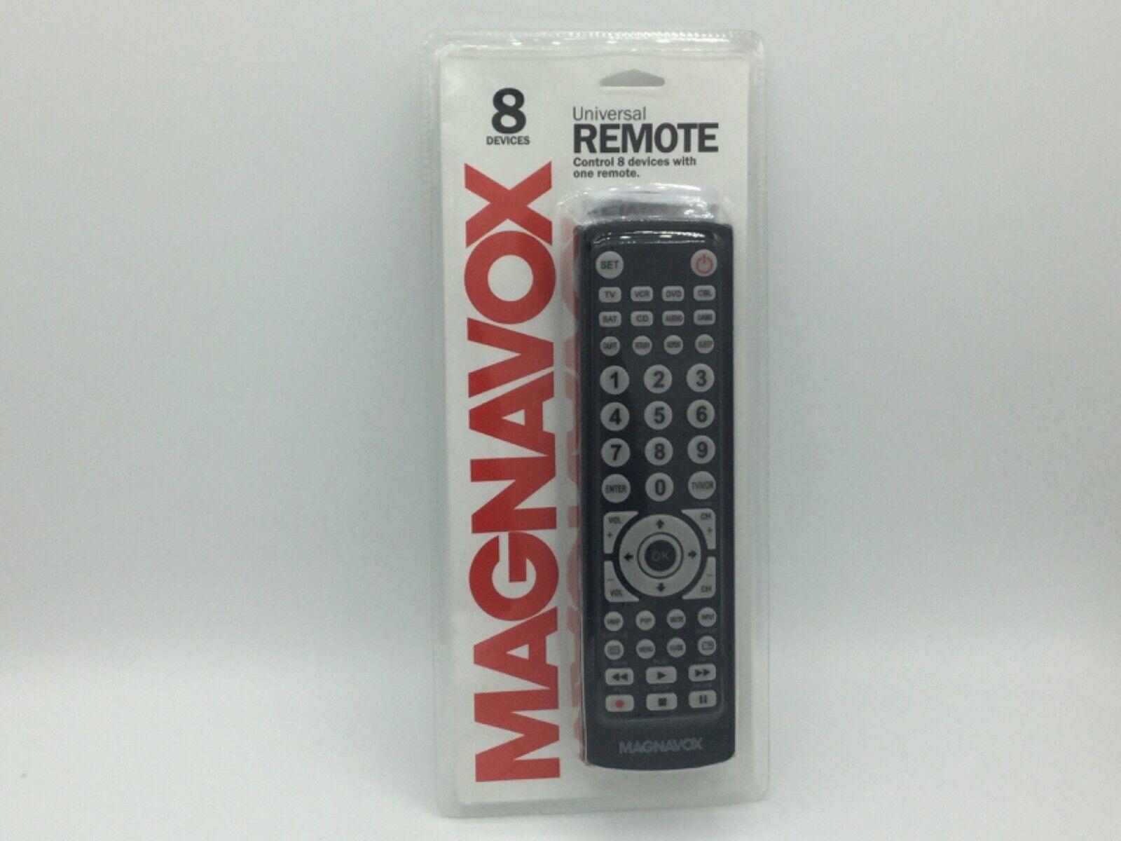 Magnavox 8-in-1 Universal Remote For TVs , Digital TVs , DVD