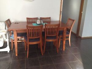 7 piece dining setting Grovedale Geelong City Preview