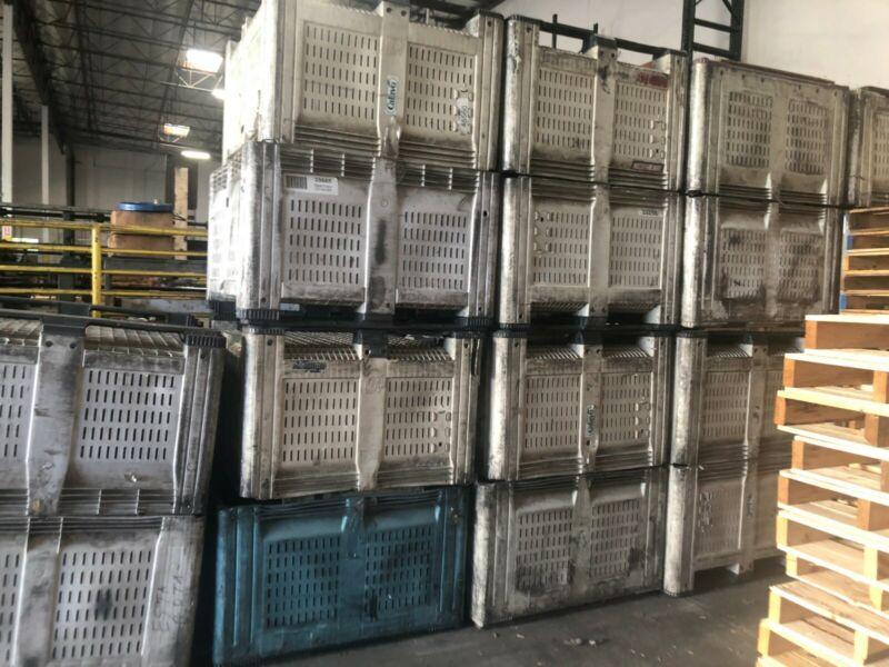 Macro Container MacroBin Bulk Plastic Container 48W x 44L x 30 H