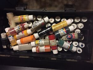 Tool box of Tole Paint