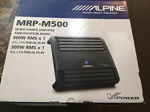 Alpine Amplificateur MRP-M500