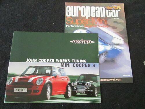 2003 2004 MINI John Cooper Works Tuning Brochure Cooper S Perform JCW Catalog