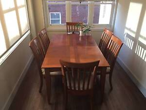 Maple dining table Coogee Eastern Suburbs Preview
