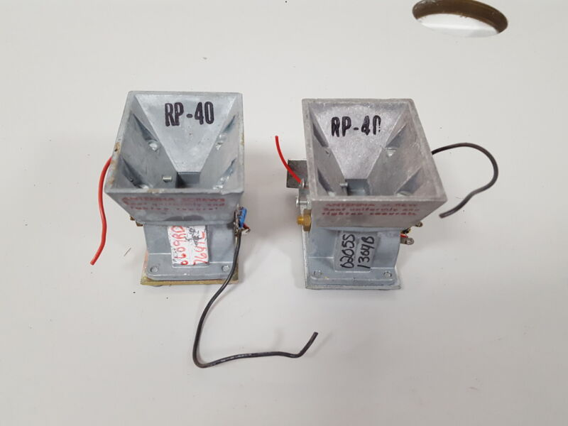 2x Solfan RP-40 Radio Unit Lab