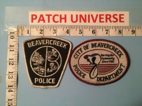 LOT OF TWO DIFFERENT BEAVERCREEK OHIO SHOULDER PATCHES  K117