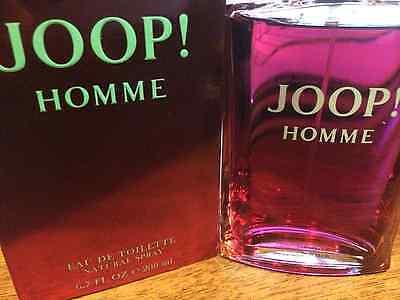 JOOP HOMME BY JOOP MEN COLOGNE 6.7 6.8 OZ 200 ML EAU DE TOILETTE SPRAY NIB