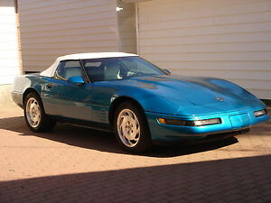 1992 Chevrolet Corvette Convertible Moose Jaw Regina Area image 1