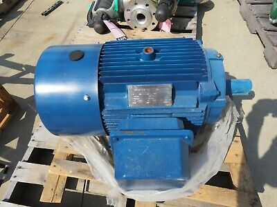 North American 15 Hp Electric Motor 208-230460v Rpm 900 Fr 286t Nae-286t-15-8c