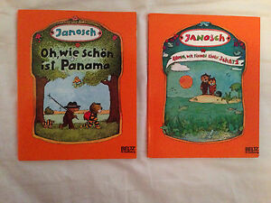 2 German children's books by Janosch  Peterborough Peterborough Area image 1