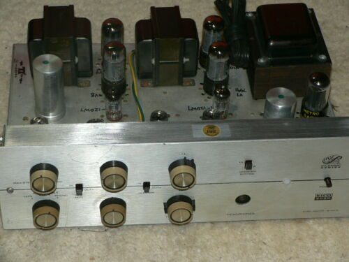 1 Eico 2050 Amplifier (Working) just serviced