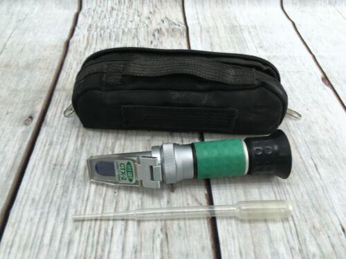 Vee Gee Scientific CTX-2 Handheld Refractometer Antifreeze/Coolant Scales