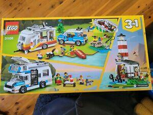 Lego creator 31108 family caravan lighthouse set