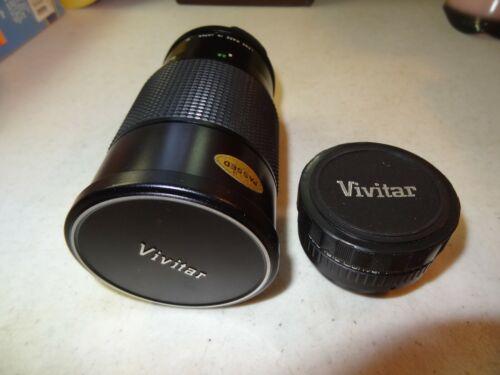 VIVITAR  200 mm 1: 3.5  62 mm & Automatic Tele Converter 2X-1