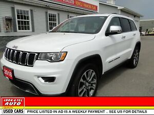2018 Jeep Grand Cherokee Limited AS LOW AS $ 126.00  A WEEK