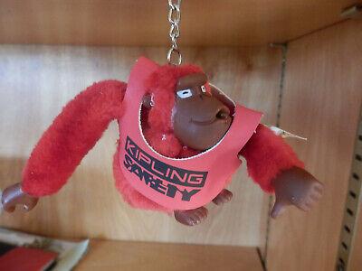 RARE- Kipling SAFETY Monkey VINCE.  Key Chain/ Bag Charm