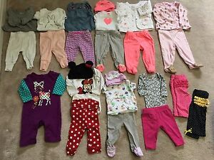 Baby girl clothes 0-3 mths