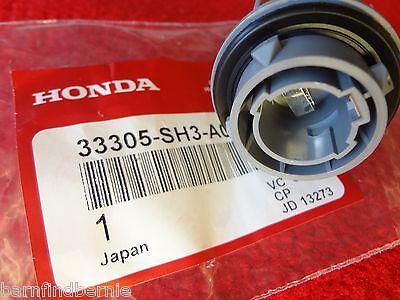 NEW Honda Front Turn Signal Socket Civic Accord Prelude CRX Genuine OEM (Front Turn Signal Socket)