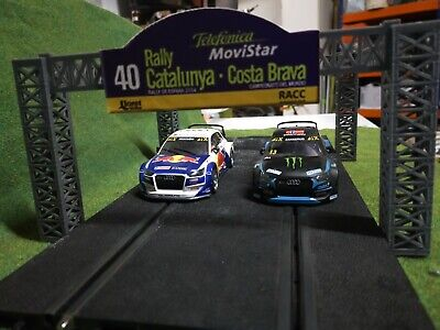 scalextric tramo salida podium 3 d decoracion
