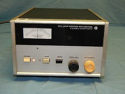 Gamma Scientific Model Rs-1 Lamp Monitor Control