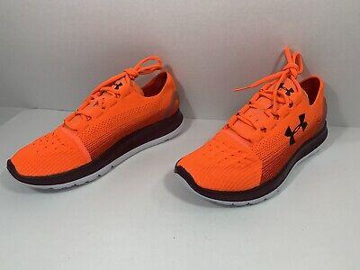 Under Armour Speedform Men's Running Shoes Orange 1288254 889 Sz 10