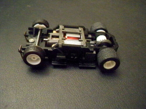 TYCO Wide 440-X2 White wheels Slot Car Chassis Unused