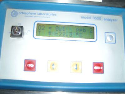 Orbisphere Laboratories Model 3600 Analyzer 3600 In Stailess Steel Enclosure