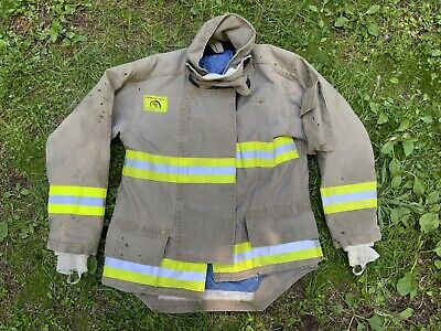 Morning Pride Fire Fighter Turnout Jacket 42 2935 34 Bunker Gear 2760
