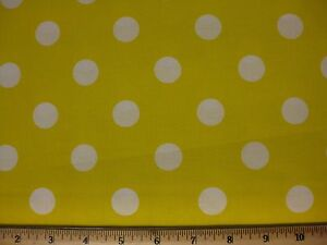 Polka Dot Fabric BTY 36x44 UPick nickle green blue purple black pink yellow red