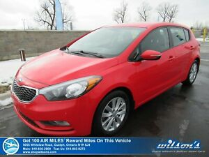2016 Kia Forte5 LX+ Hatchback - Heated Seats, Bluetooth, Alloys,