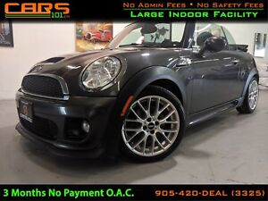 2012 MINI Cooper S| John Cooper Works Base (M6)| Turbo| Converti