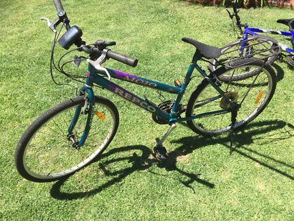 Womens adult bike