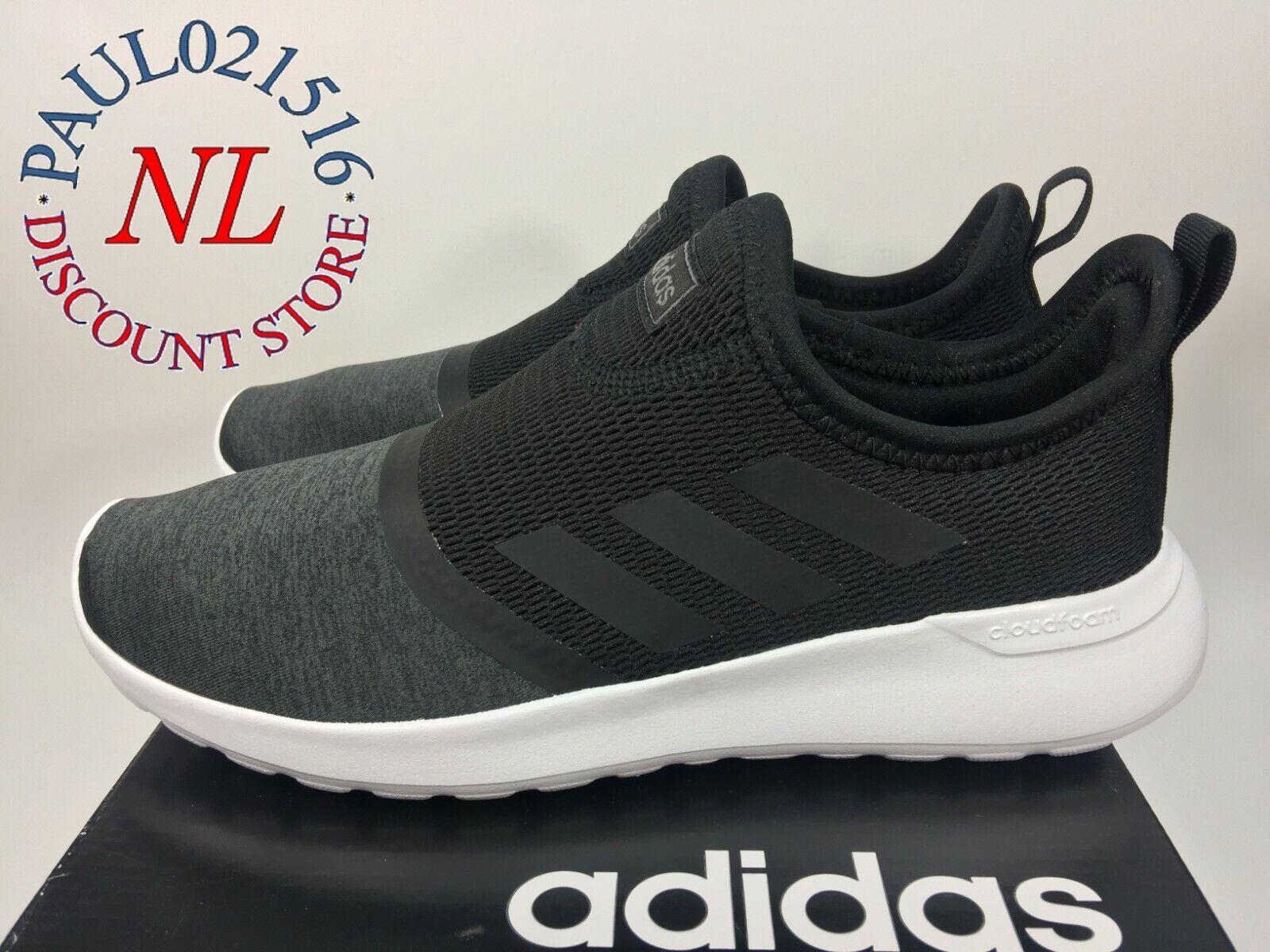 Adidas Women's Cloudfoam Lite Racer Slip Running Shoes ~ Bla