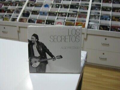 LOS SECRETOS CD EUROPE ALGO PRESTADO 2015 DIGIPACK