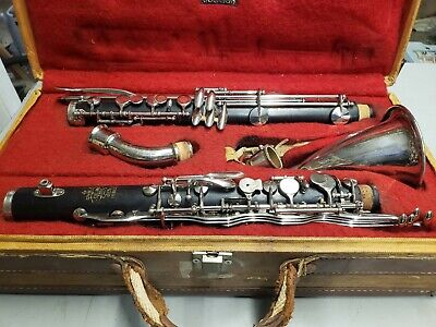 Gorgeous Leblanc Paris Model 420 Wooden professional Alto Clarinet