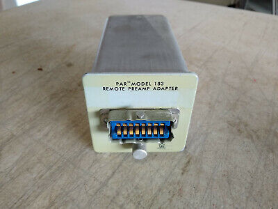 Par Princeton Applied Research Model 183 Remote Preamplifier Adapter