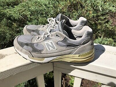 New Balance 992 Made in USA Men's Shoes M992GL Gray Sz 12 No Insoles