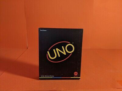 UNO Card Game •  2020 Special Edition • MINIMALIST, BRAND NEW SEALED