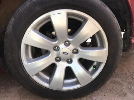 Ford 17 inch rims good tires