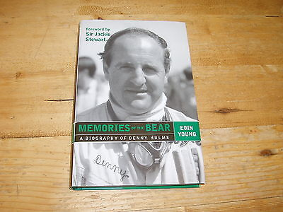 Sale Book - Memories of the Bear (Denny Hulme). Was £17.99.